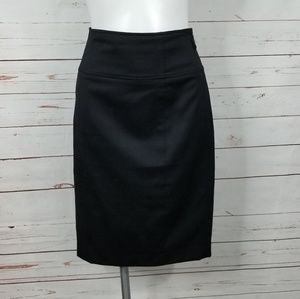 Lauren Ralph Lauren Black Knee Length Skirt Size 8